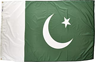 product image for Annin Flagmakers Model 196520 Pakistan Flag Nylon SolarGuard NYL-Glo, 4x6 ft, 100% Made in USA to Official United Nations Design Specifications