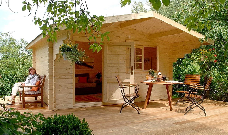 Lillevilla Escape 113 SQF - Kit de Cabina de Madera: Amazon.es: Jardín