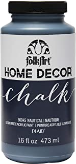product image for FolkArt 36045 Home Decor Chalk Acrylic Paint, 16 oz, 16 Ounce, Nautical 16 Fl Oz