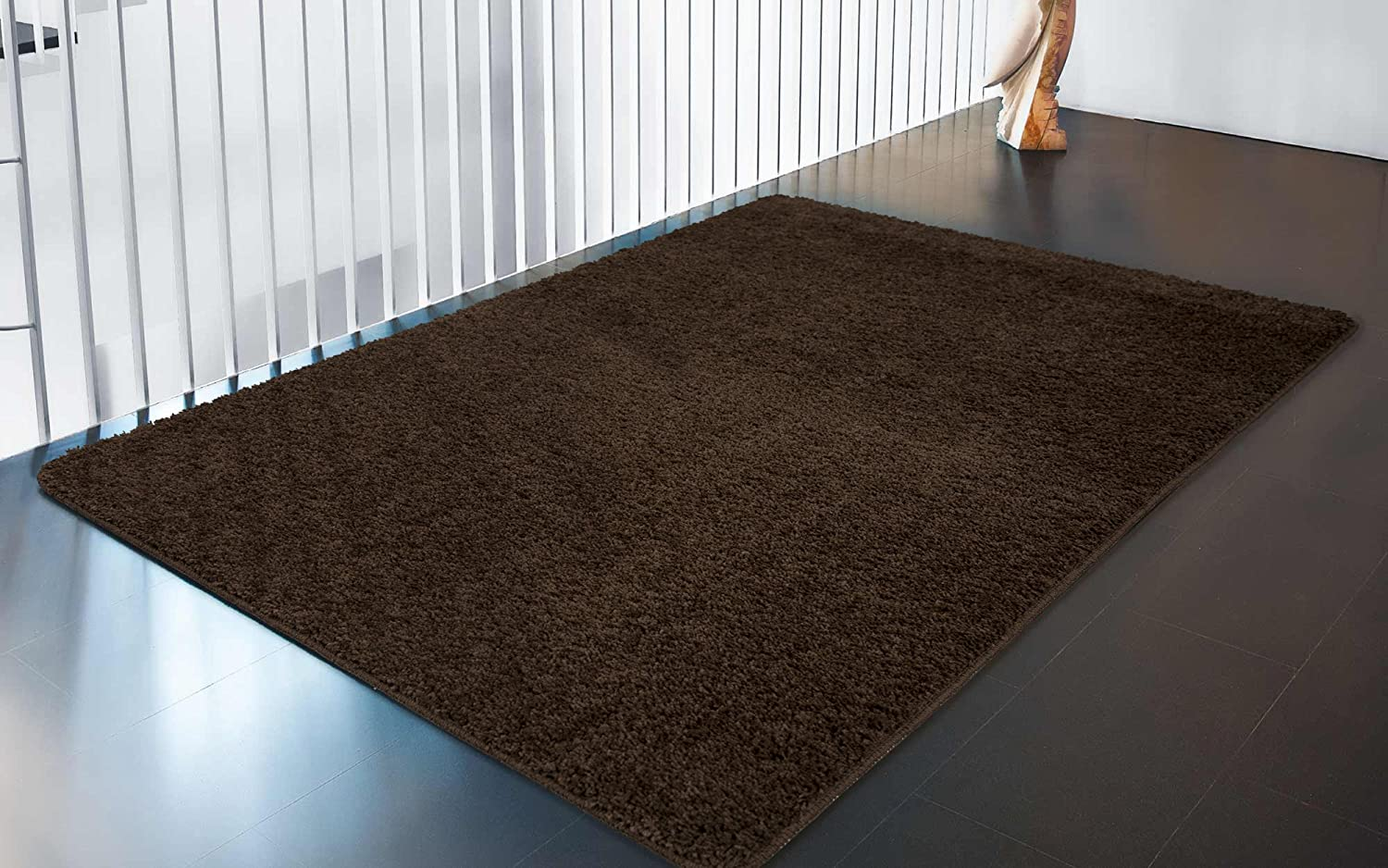 Amazon Com Ottomanson Luxury Collection Solid Rug With Non Slip