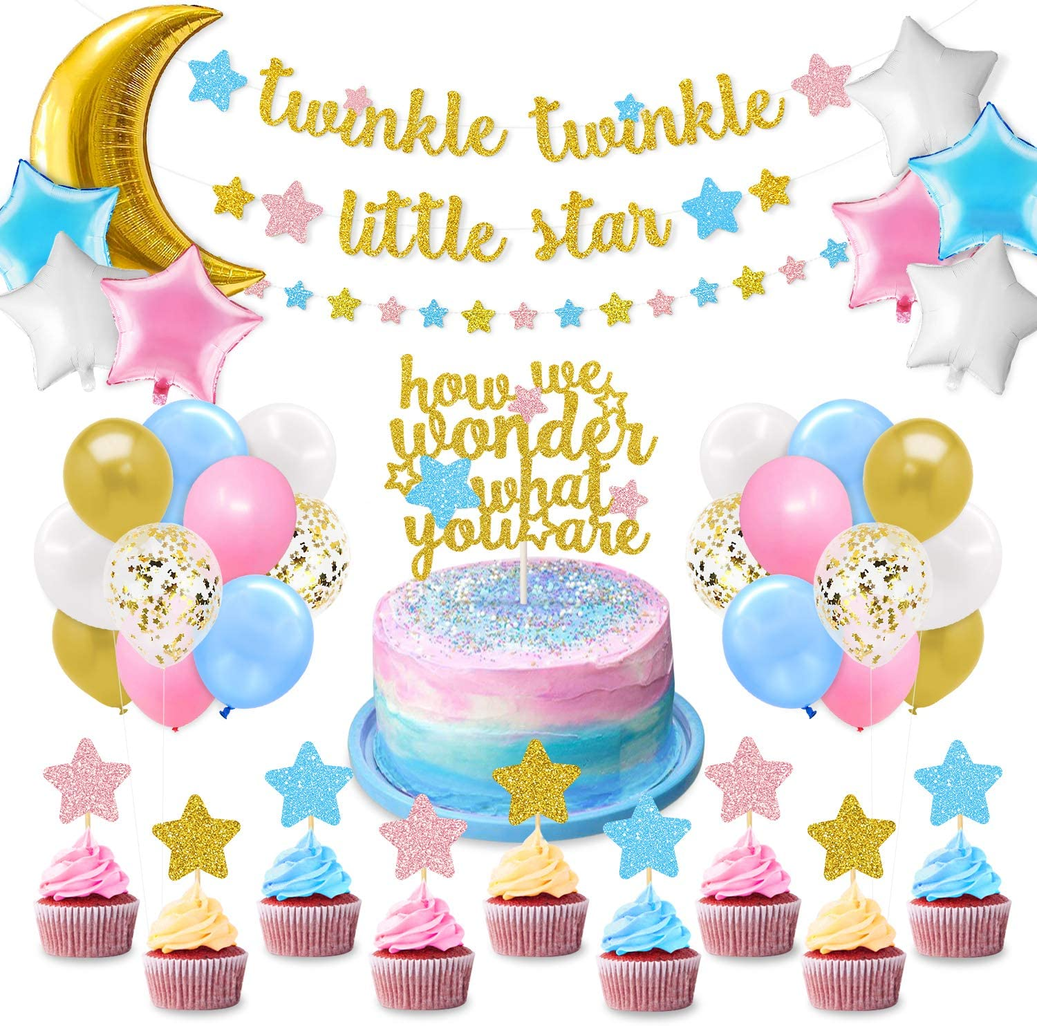 Twinkle Twinkle Little Star Party Decorations from images-na.ssl-images-amazon.com