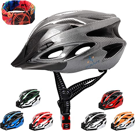 Cycling Bicycle Helmet Unisex Adult Mens Womens Adjustable Safety Outdoor Helmet