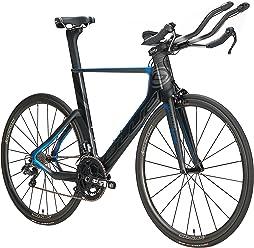 Blue Competition Cycles Blue Triathlon TT Bike Triad EX Di2 Full Carbon with Shimano Ultegra Di2 - SM (51CM)