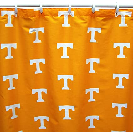 Tennessee Volunteers Shower Curtain Cover Plus A Matching Window Valance