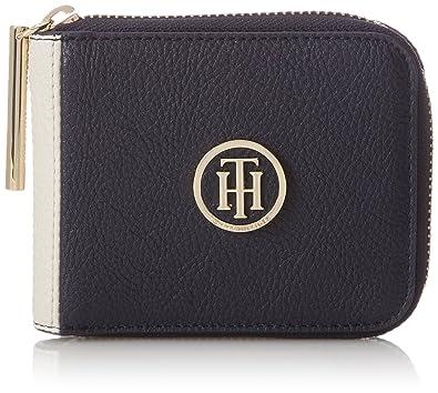 Tommy Hilfiger Th Core Sm Za Wallet, Portefeuilles femme, (Black), 1x10x13 cm (B x H T)