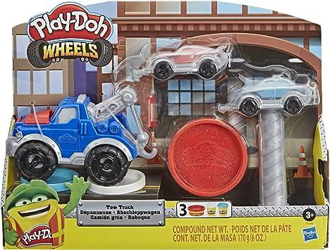 Oferta amazon: Play-Doh Camión Grúa (Hasbro E66905L0)