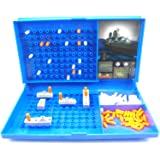Warship Games for Children and Adults Net4Client® Classic Board Games Toy Battle Ship for Kids Battleships Grid 2 Player Board Games
