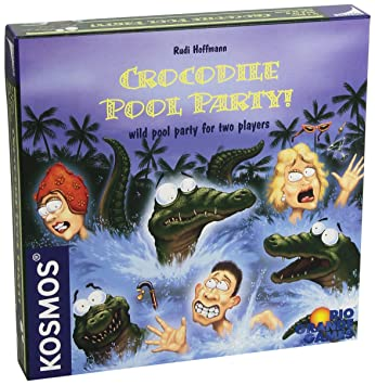 Río Grande - Crocodile Pool Party Juego de Mesa: Amazon.es ...