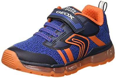 7c642b8c2ec4 Geox J Android Boy a Low-Top Sneakers: Amazon.co.uk: Shoes & Bags