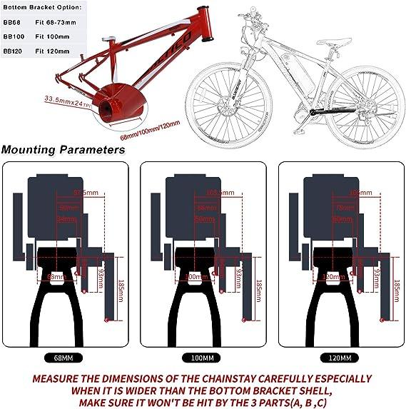 Bafang 8fun BBSHD 48V 1000W Kit de Motor Central Bicicleta ...