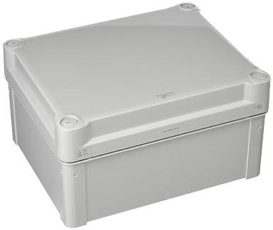 Schneider Electric NSYTBP241912H PC Caja, IP66, IK08, 225mm x 175mm x 120mm Interna, 241mm x 194mm x 127mm Externo, Tapa de PC Opaca H40, Gris: Amazon.es: Industria, empresas y ciencia