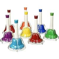 Percussion Workshop CB8 Coloured Combi Hand Bells (Set of 8)