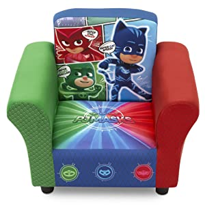 Delta Children Upholstered Chair, PJ Masks