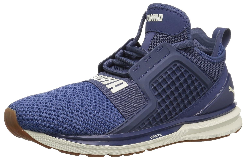 PUMA Women's Ignite Limitless Weave Wn Sneaker B071K95BN6 6.5 M US|Blue Indigo-whisper White