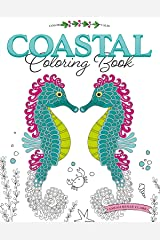 Color Calm Coastal Coloring Book Paperback