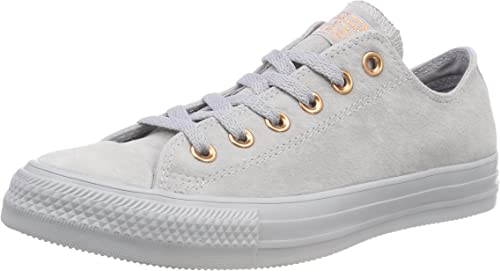 Converse CTAS Ox Wolf GreyBlue Chill, Baskets Mixte Adulte