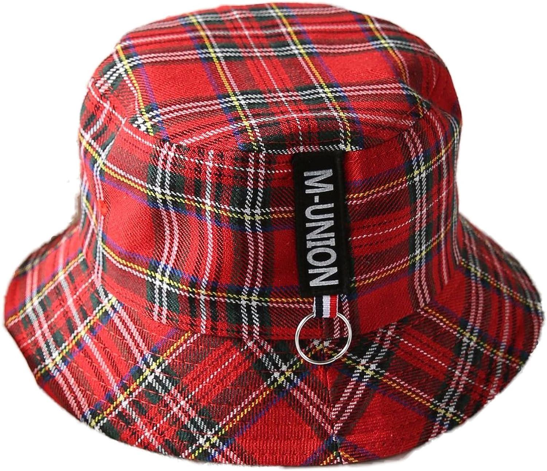 ChezAbbey Plaid Bucket Hats...