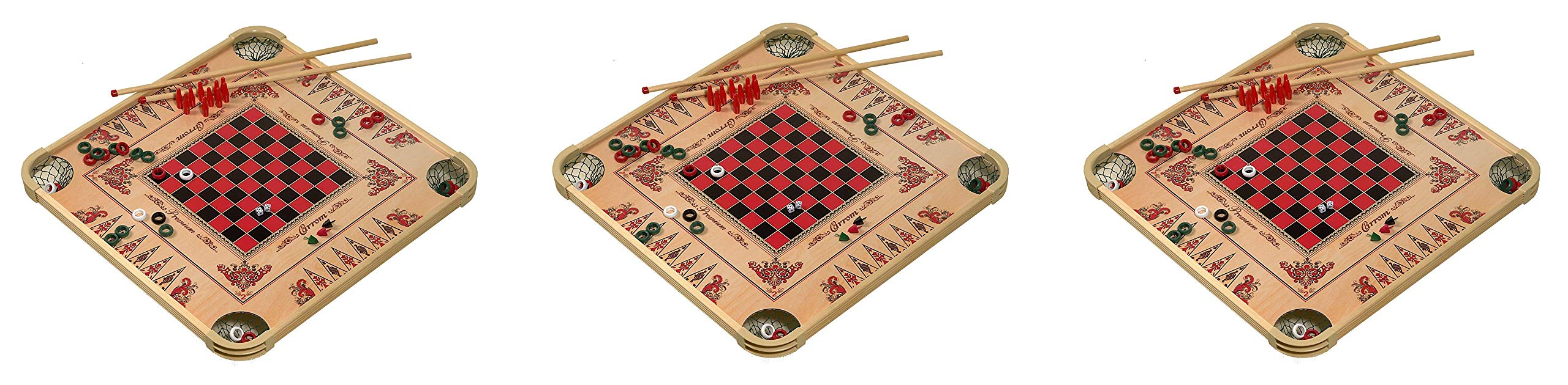 Carrom Game Board Large (3-Pack)