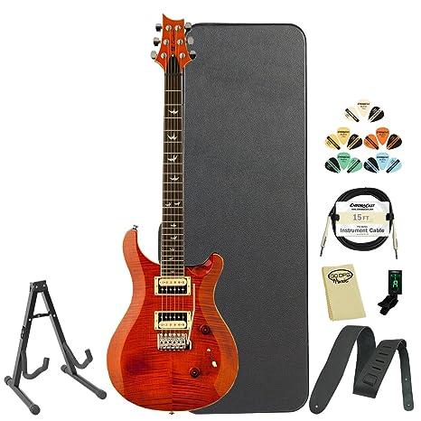 Paul Reed Smith guitarras cm4 F30or-kit-02 se Custom 24 30th aniversario naranja
