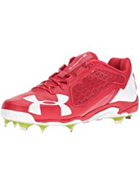 Under Armour Mens Deception Low DiamondTips Baseball Shoe