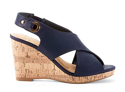 af10e9914c7 VITTORIA Womens Sandals - Casual   Comfortable - Made from Synthetic Leather  - Perfect for Summer