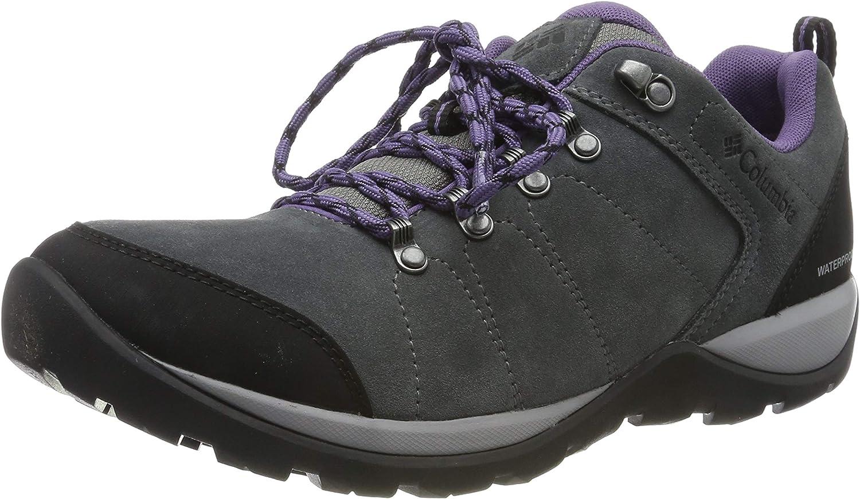 Columbia FIRE VENTURE S II Zapatos de senderismo impermeables para mujer