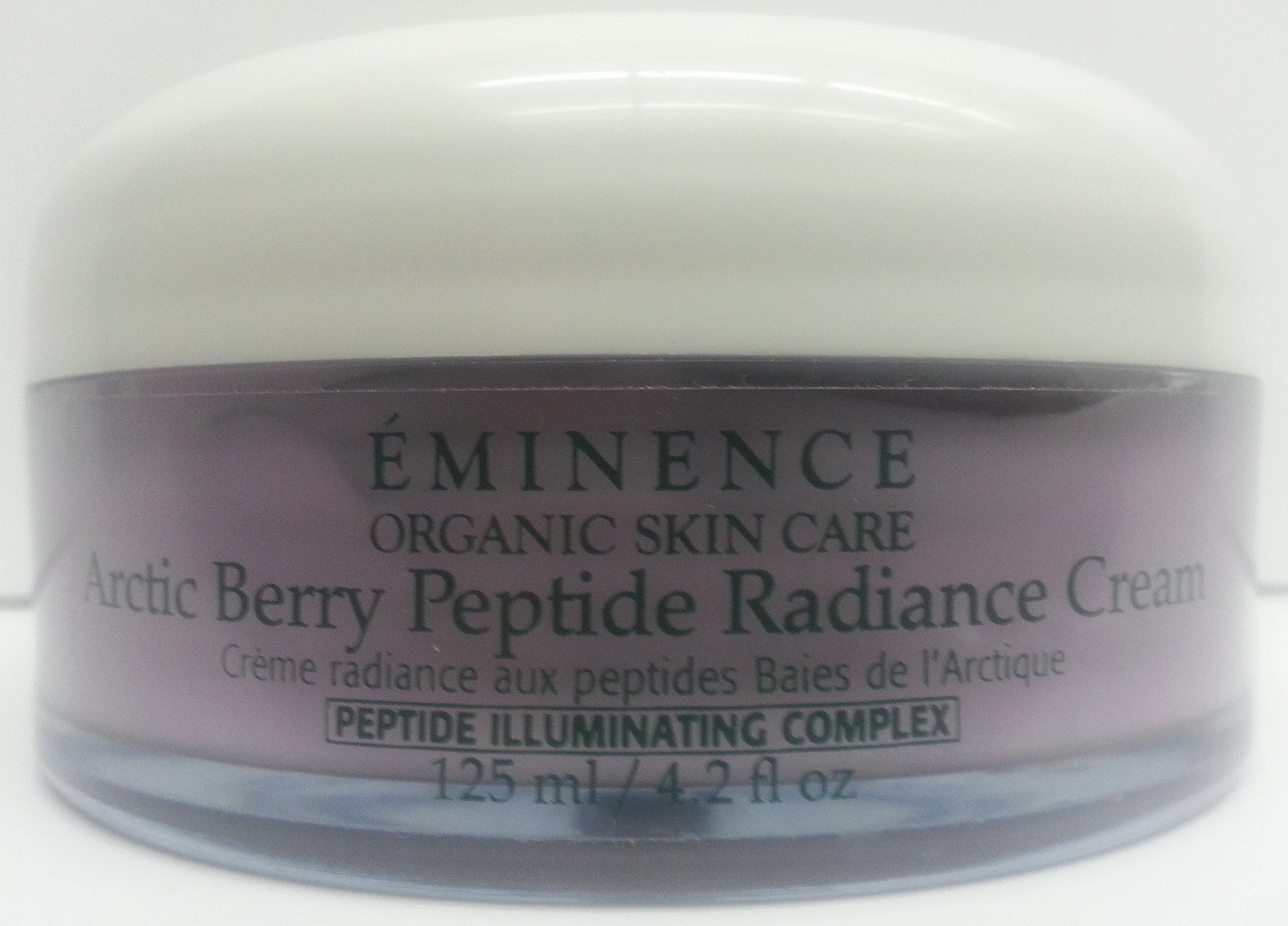 Eminence Arctic Berry Peptide Radiance Cream Professional Size 4.2 oz 125 ml (Huge, 2.2 X BIGGER
