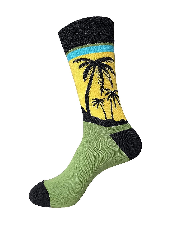 Mens Dress Socks,EmaoFun Funny Fancy Colorful Casual Pattern Crew Socks