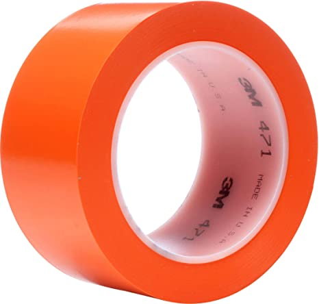 3m masking tape orange