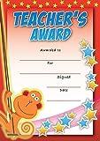 16 A6 Teachers Special Award Certificate Monkey