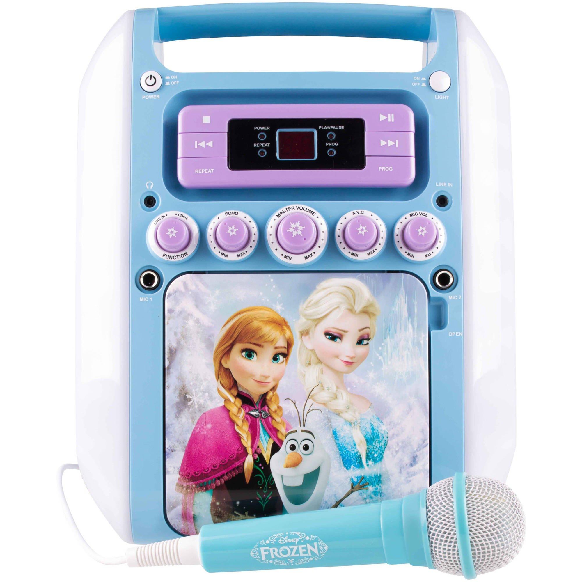 Sakar Frozen Winter Ko2-07027 Magic Karaoke Model by Sakar (Image #1)