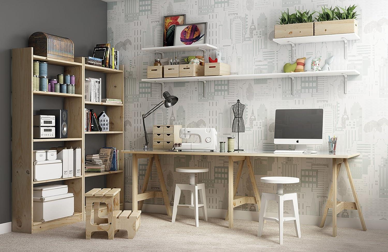 Astigarraga plateau bureau ep mm bois blanc x