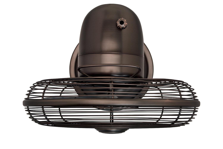 Hunter Fan 90406 12 Oscillating Desk Fan oil rubbed bronze Color Hunter Fan Company