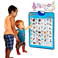 Just Smarty Electronic Interactive Alphabet Wall Chart, Talking ABC & 123s & Music...