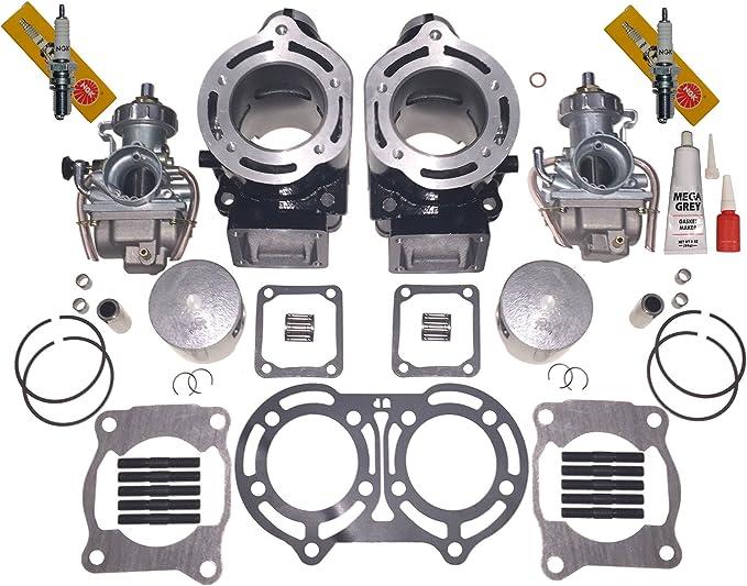1996 1997 1998 1999 Yamaha Banshee 350 Gaskets 6 Jets N 2 Needle Carb Kit