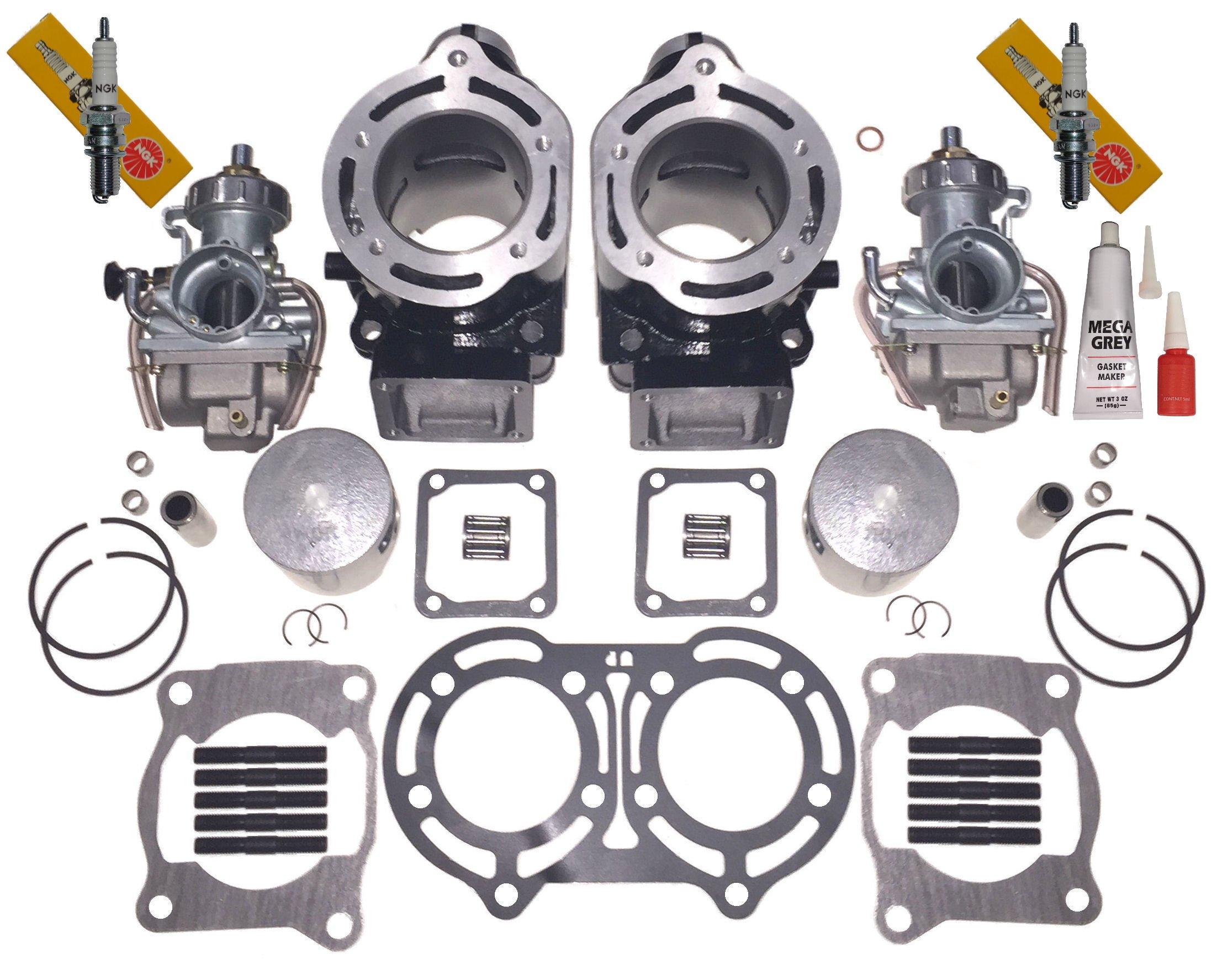Piston Kit For 1987-2006 Yamaha Banshee YFZ350 YFZ350LE YF350SE YF350SP Replaces 2GU-11610-01-00 2GU-11610-11-00