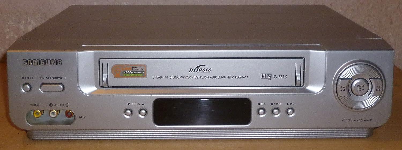 Samsung SV-661 VHS videoregistratore, 6 teste, HIFI stereo. 6teste