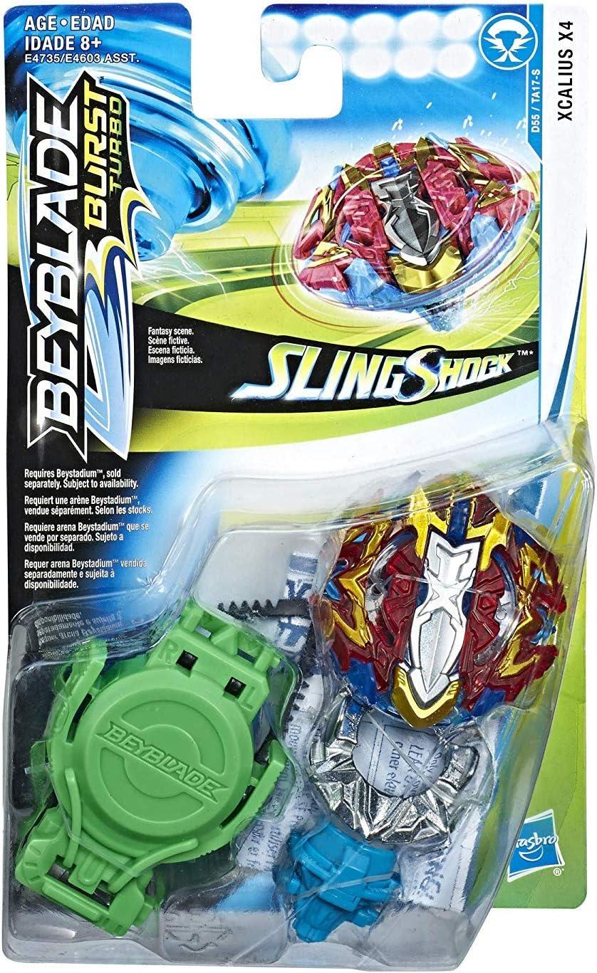 Beyblade - Xcalius X4 Burst Turbo Slingshock (E4735EL2)