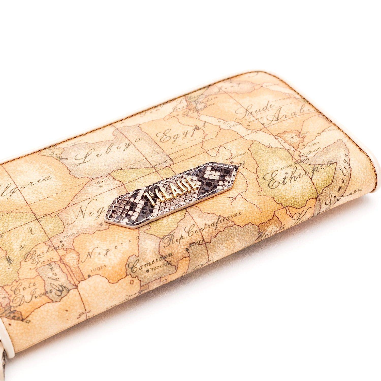 Alviero Martini 1A Classe Womens PE94G5720585 Beige Leather Wallet
