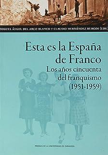 Los «años del hambre»: Historia y memoria de la posguerra franquista Estudios: Amazon.es: del Arco Blanco, Miguel Ángel: Libros