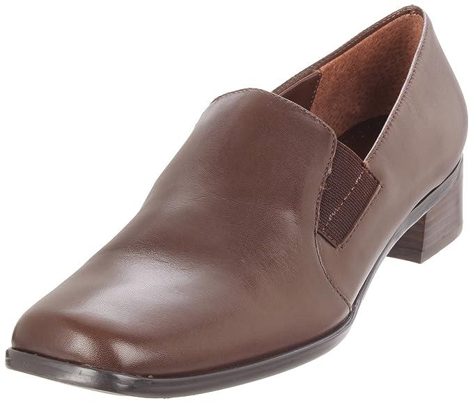 Trotters Ash Mujer Castaño claro Estrechos Piel Mocasines Zapatos EU 39,5: Amazon.es: Ropa y accesorios