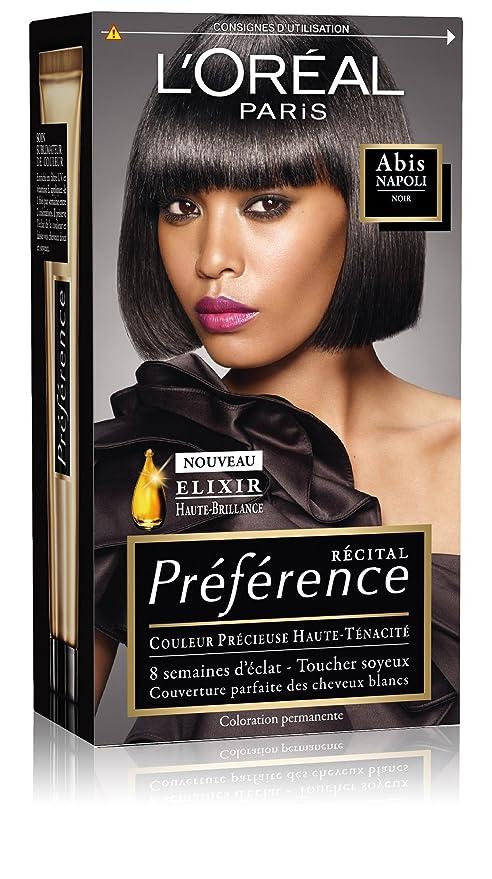 Teinture aux cheveux noirs dans d'autres couleurs