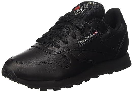7be19a07f461 Reebok Classic Leather Women Sneaker Black 3912