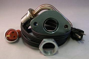 Calentador de motor Kit para Detroit Diesel 3 – 71, 4 – 71 motores sin