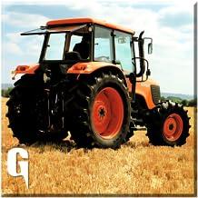 Plow Farm Tractor 3D