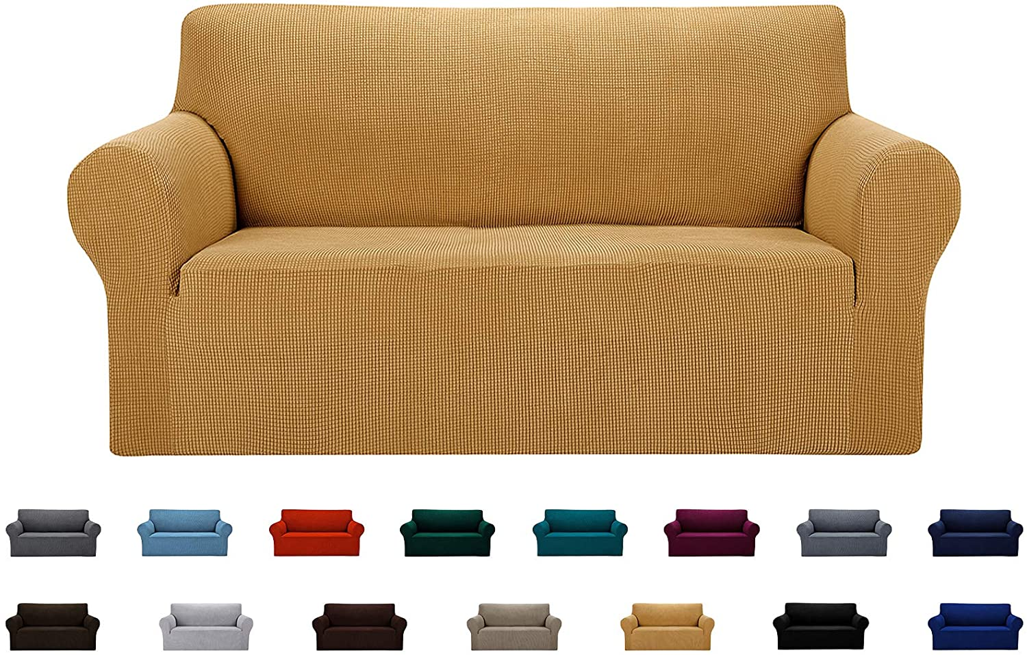 AlGaiety Stretch Loveseat Couch Quality inspection Slipcover Furniture Max 55% OFF Cover Prote