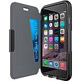 """Tech21 """"Evo Wallet"""" Coque de Protection pour iPhone 6/6S avec Rangement pour Carte de Crédit - Noir"""