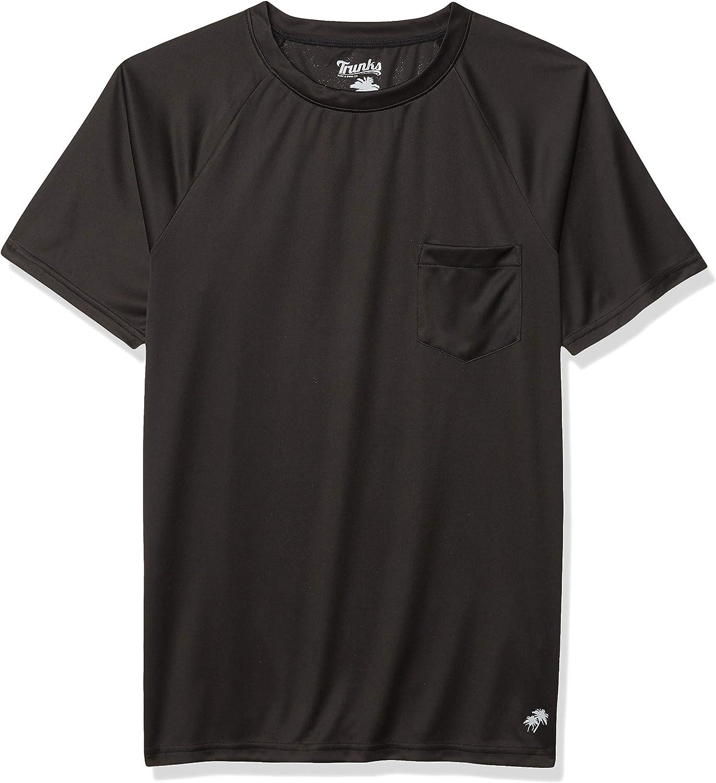 Trunks Men's Short Sleeve UPF 20 Swim Tee