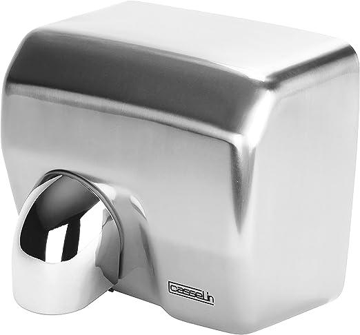 Casselin CB2INOX – Secamanos con caja de acero inoxidable: Amazon ...