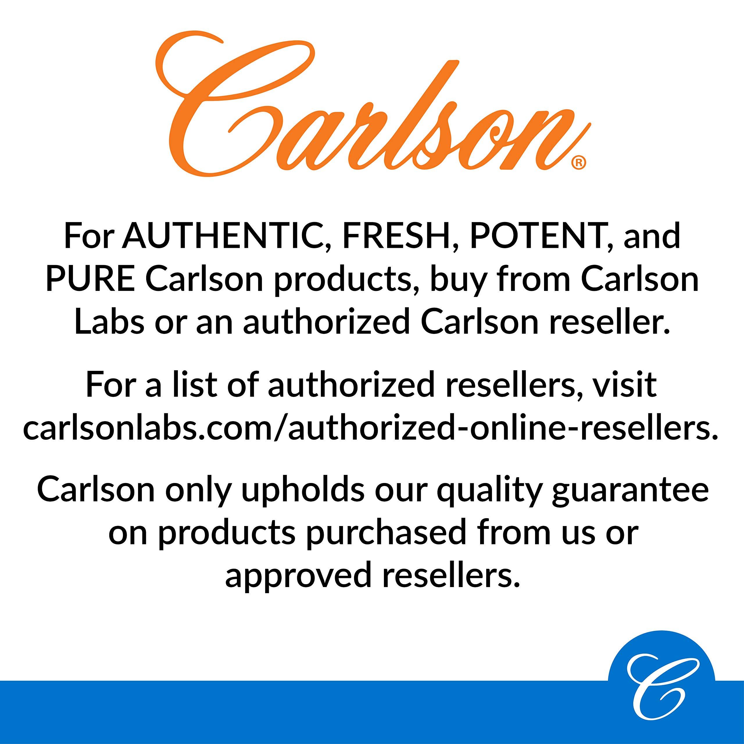 Carlson - Vitamin K2 MK-7 (Menaquinone), 45 mcg, Bone Support, Cardiovascular Function & Calcium Bioavailability, 90 Softgels